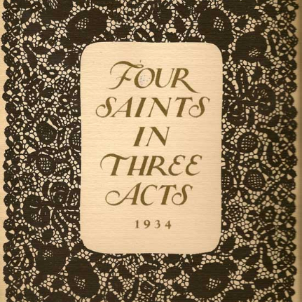 Four Saints in Three Acts logo