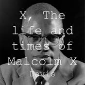 X, The Life and Times of Malcolm X logo