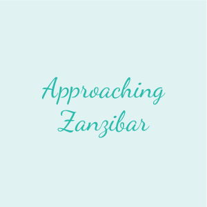 Approaching Zanzibar